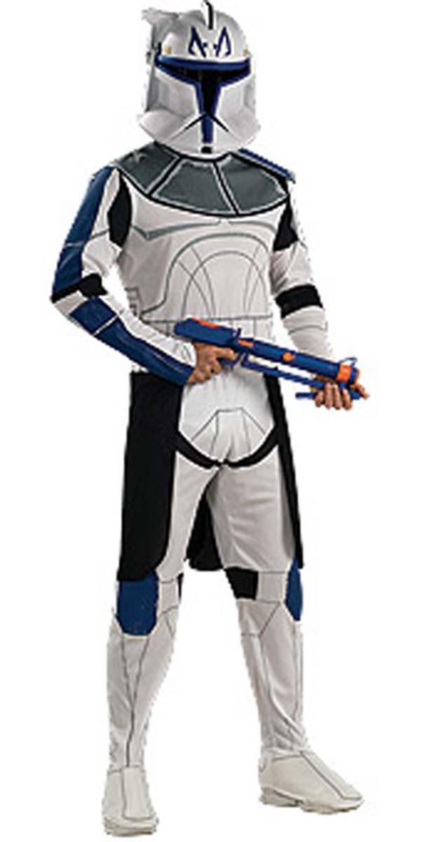 klonkrieger kost m rex star wars clone clonetrooper gr 122 128 134 140 146 ebay. Black Bedroom Furniture Sets. Home Design Ideas