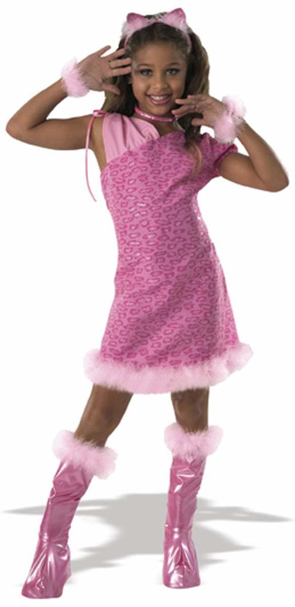 kost m katze k tzchen pink gr 134 140 katzenkost m faschingskost m ebay. Black Bedroom Furniture Sets. Home Design Ideas