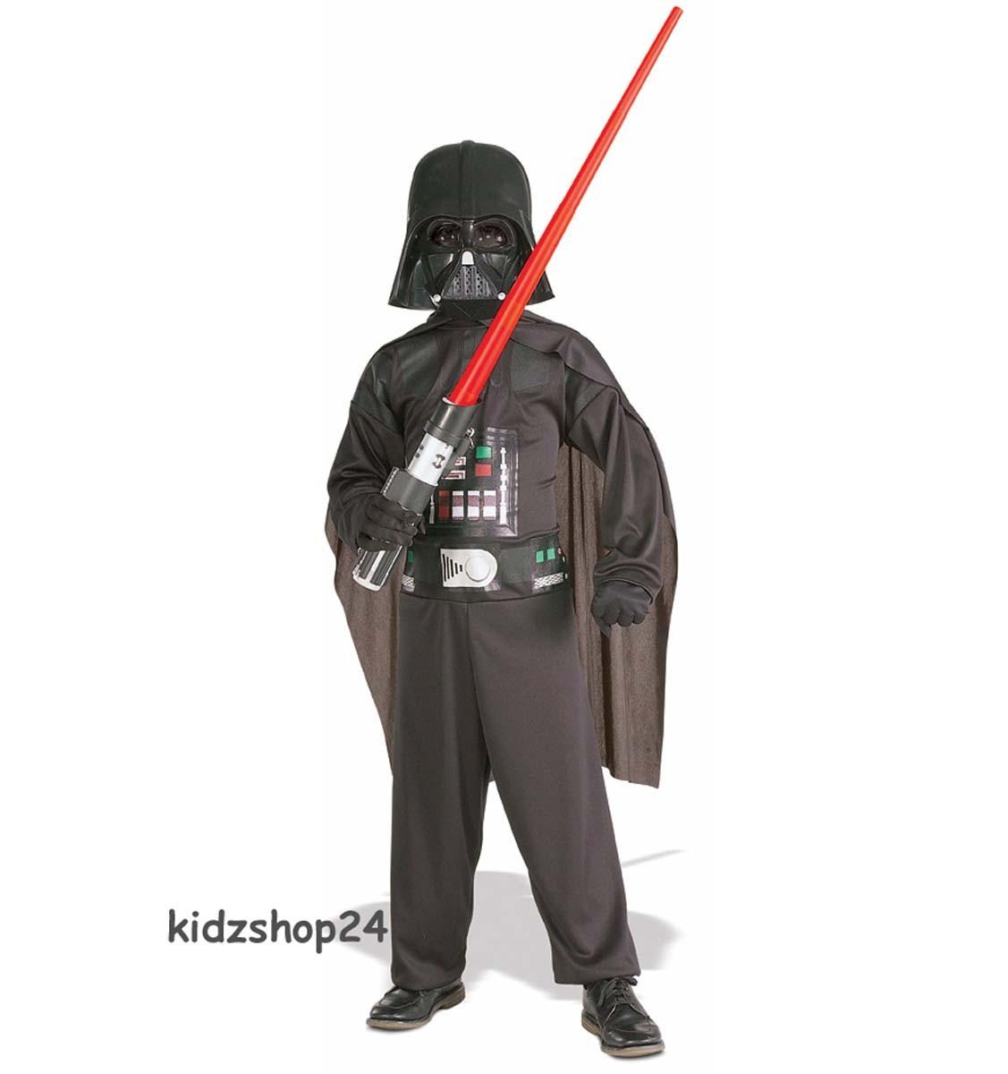 star wars kost m darth vader maske overall gr l ca 134 140 neu ebay. Black Bedroom Furniture Sets. Home Design Ideas