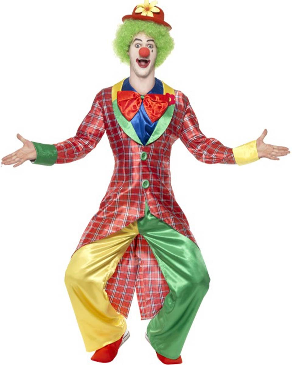 kost m lustiger clown zirkus clownskost m faschingskost m gr m l xl ebay. Black Bedroom Furniture Sets. Home Design Ideas