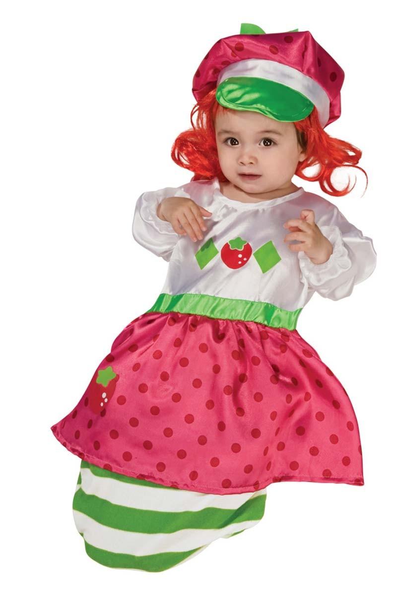 baby kost m emily erdbeer erdbeere faschingskost m ebay. Black Bedroom Furniture Sets. Home Design Ideas
