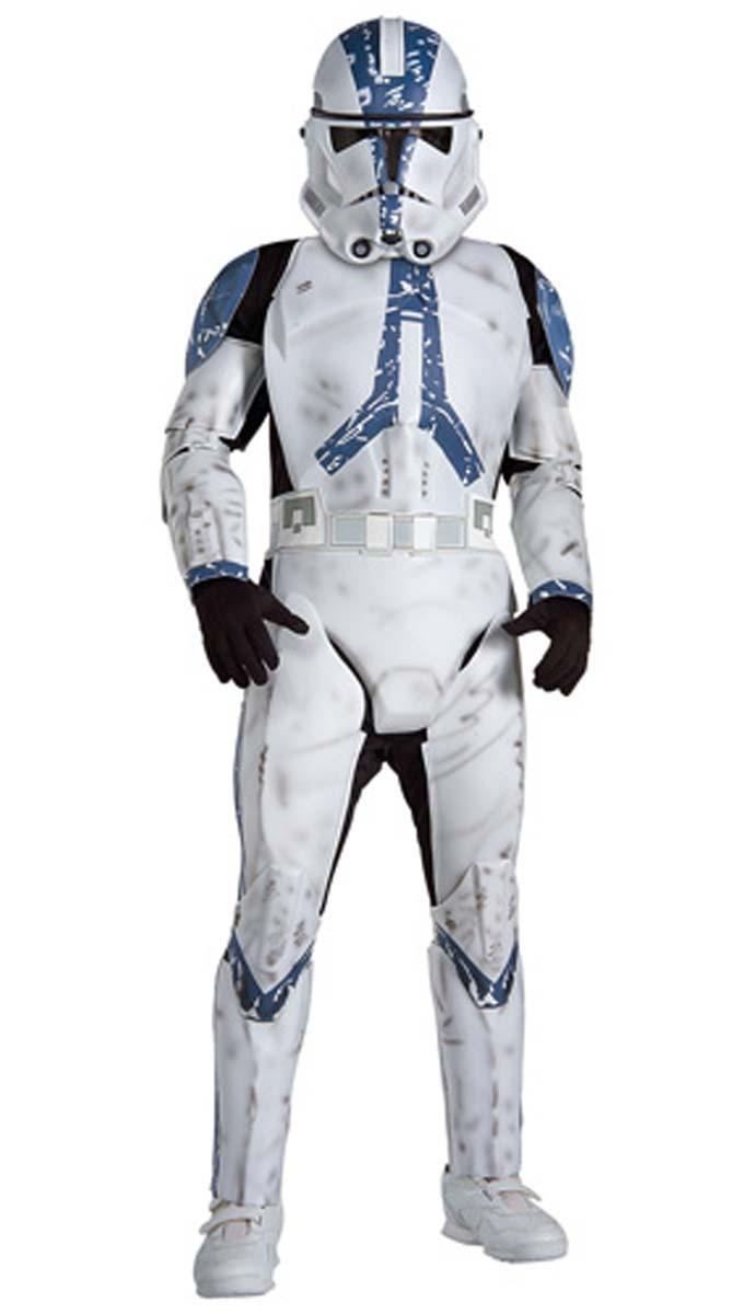 star wars kost m klonkrieger clone trooper 3d deluxe gr 116 122 b ware ebay. Black Bedroom Furniture Sets. Home Design Ideas
