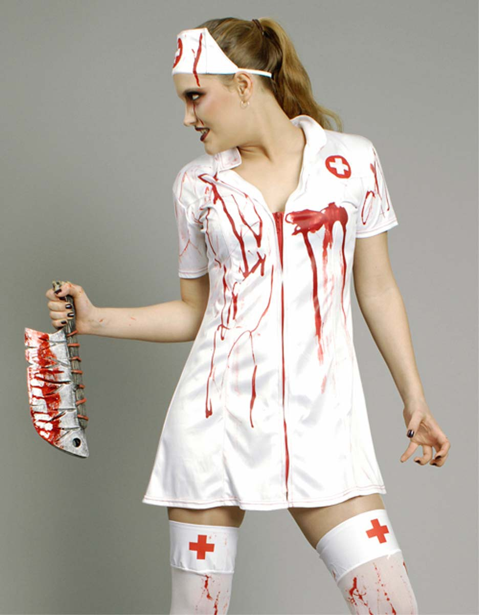 zombie arzt kost m blutiger chirurg doktor krankenschwester halloween ebay. Black Bedroom Furniture Sets. Home Design Ideas