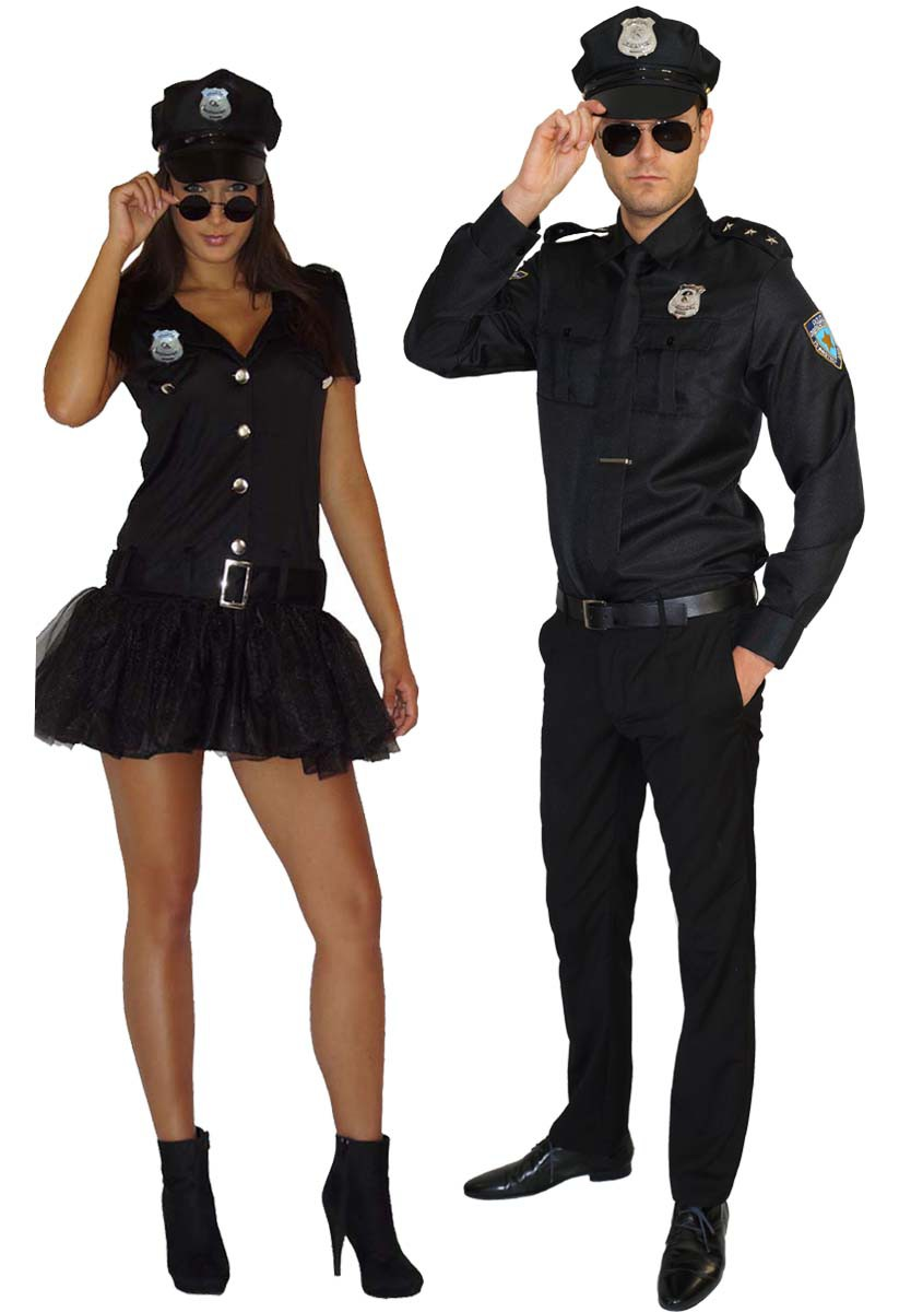 kost m polizist polzistin cop polizei uniform. Black Bedroom Furniture Sets. Home Design Ideas