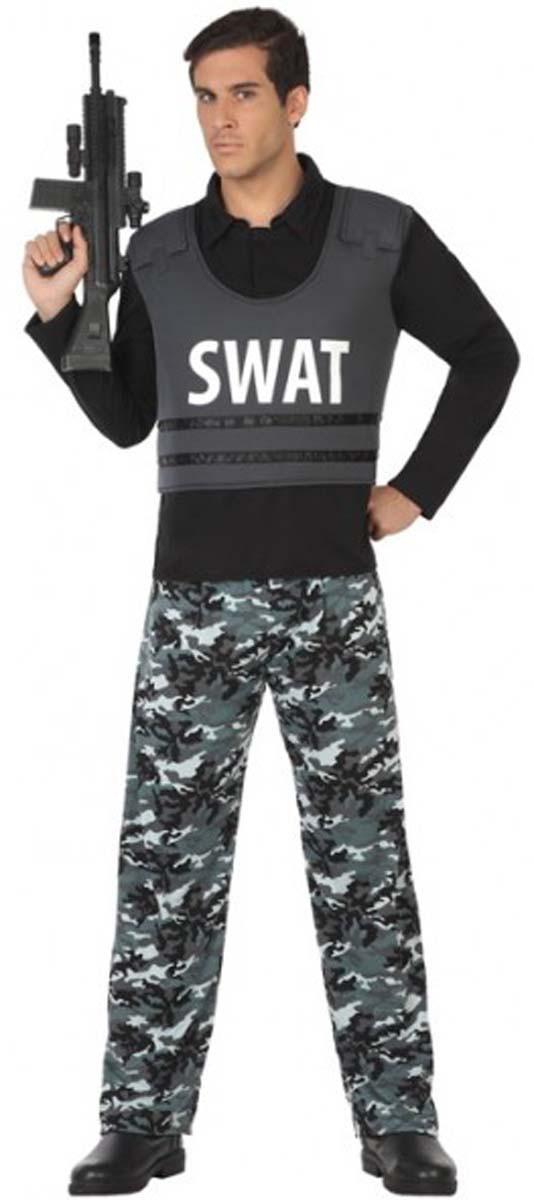swat kost m polizist polizistin polizei damen herren duo. Black Bedroom Furniture Sets. Home Design Ideas