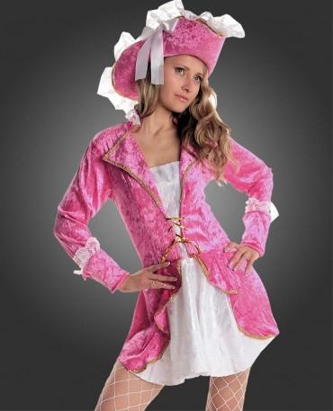 faschingskost m pirat piratin kost m piratenkost m pink. Black Bedroom Furniture Sets. Home Design Ideas