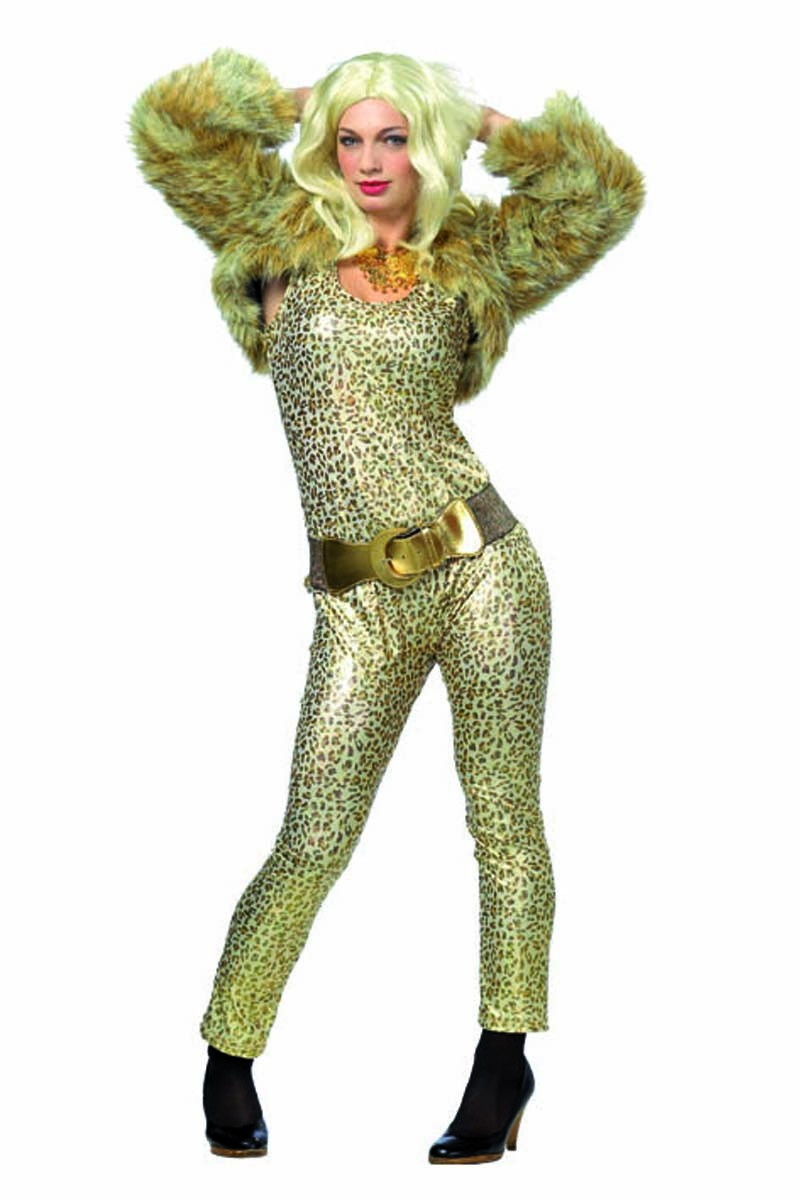 kost m leopard party girl faschingskost me damen faschingskost me tv film kost m. Black Bedroom Furniture Sets. Home Design Ideas