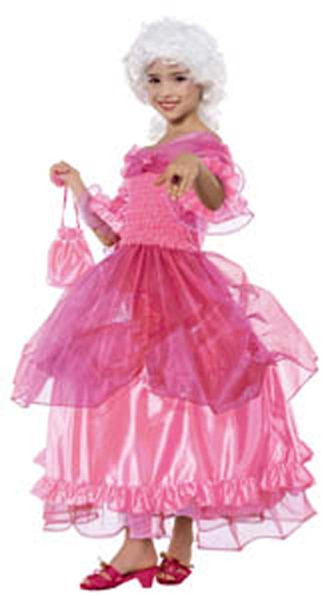 kost m prinzessin pompadour rokoko rosa faschingskost m. Black Bedroom Furniture Sets. Home Design Ideas