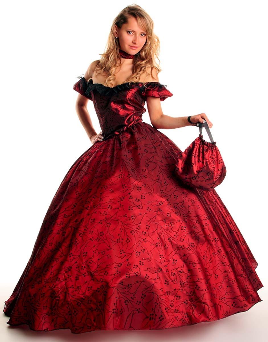 Barock Kostum Prinzessin Rokoko Scarlett Faschingskostum Gr 36 38