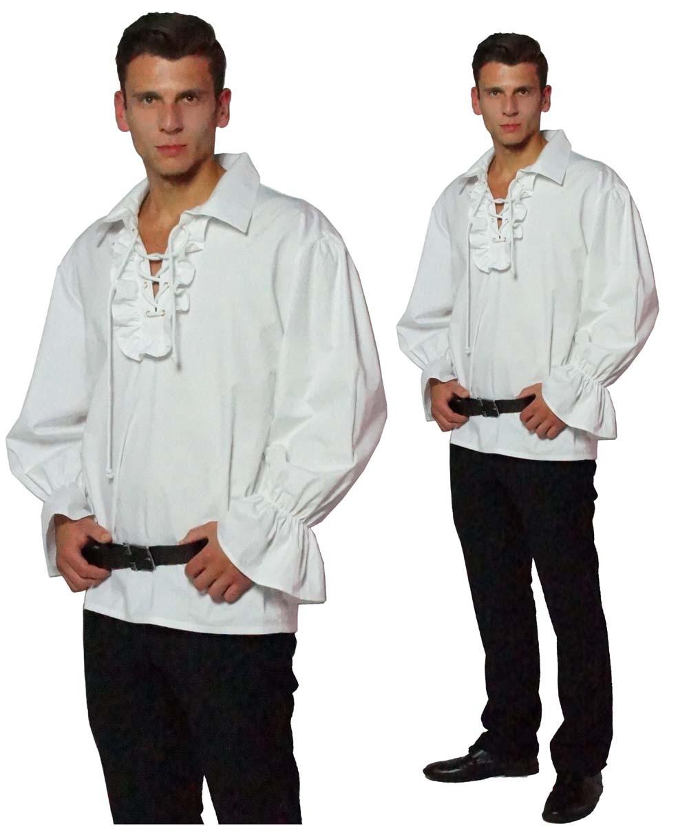 piratenhemd r schenhemd mittelalter hemd baumwolle faschingskost me herren faschingskost me. Black Bedroom Furniture Sets. Home Design Ideas